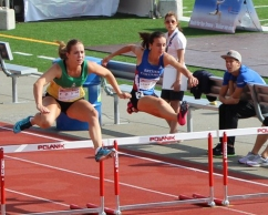 Hannah Johnston 300m Hurdles