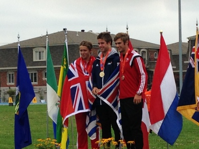 Jasper Scheidel's Gold Medal Ceremony