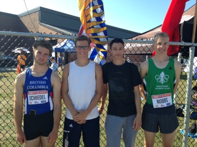 "Vancouver Olympic Club's ""Fantastic Four"""